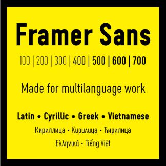Framer Sans
