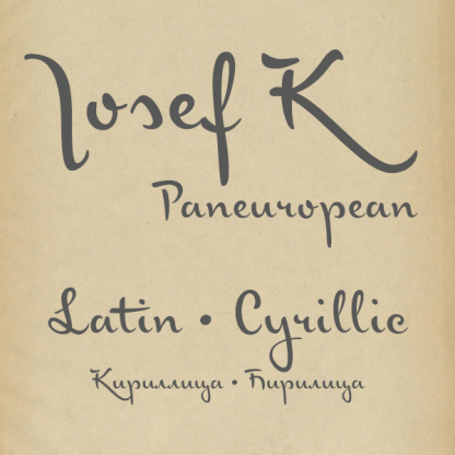 Josef K Paneuropean