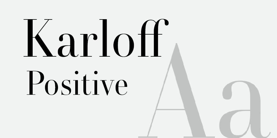 Karloff Positive