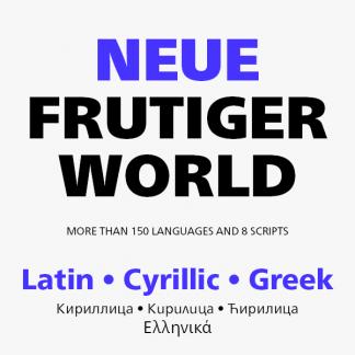 Neue Frutiger World