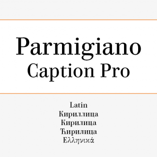 Parmigiano Caption Pro