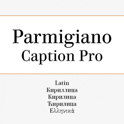 Parmigiano Caption Pro