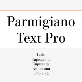 Parmigiano Text Pro