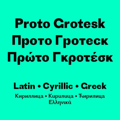 Proto Grotesk