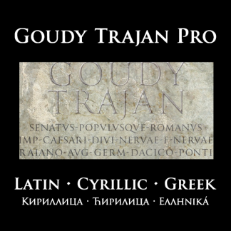 Goudy Trajan Pro