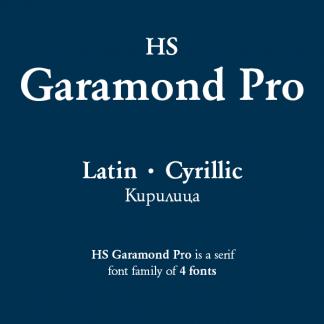 HS Garamond Pro