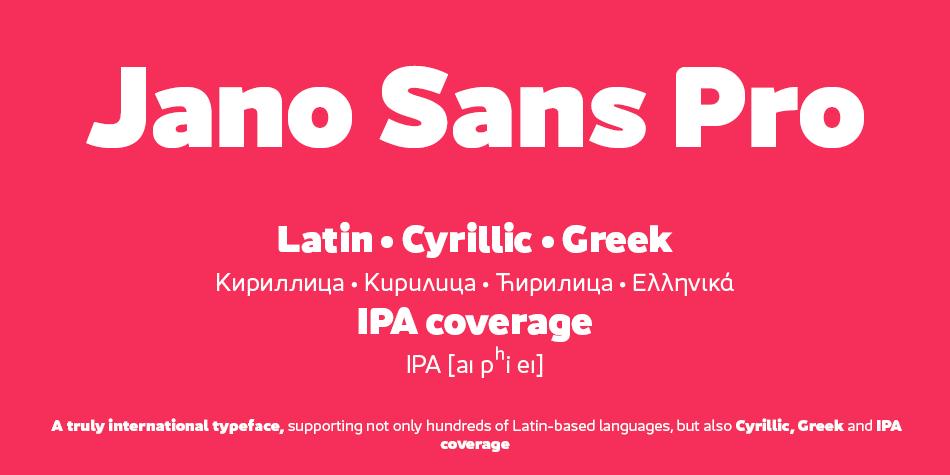Jano Sans Pro