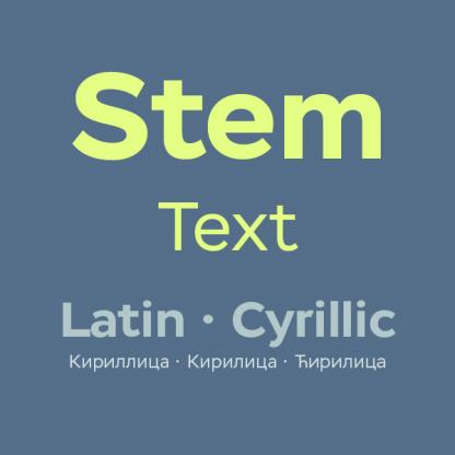 Stem Text