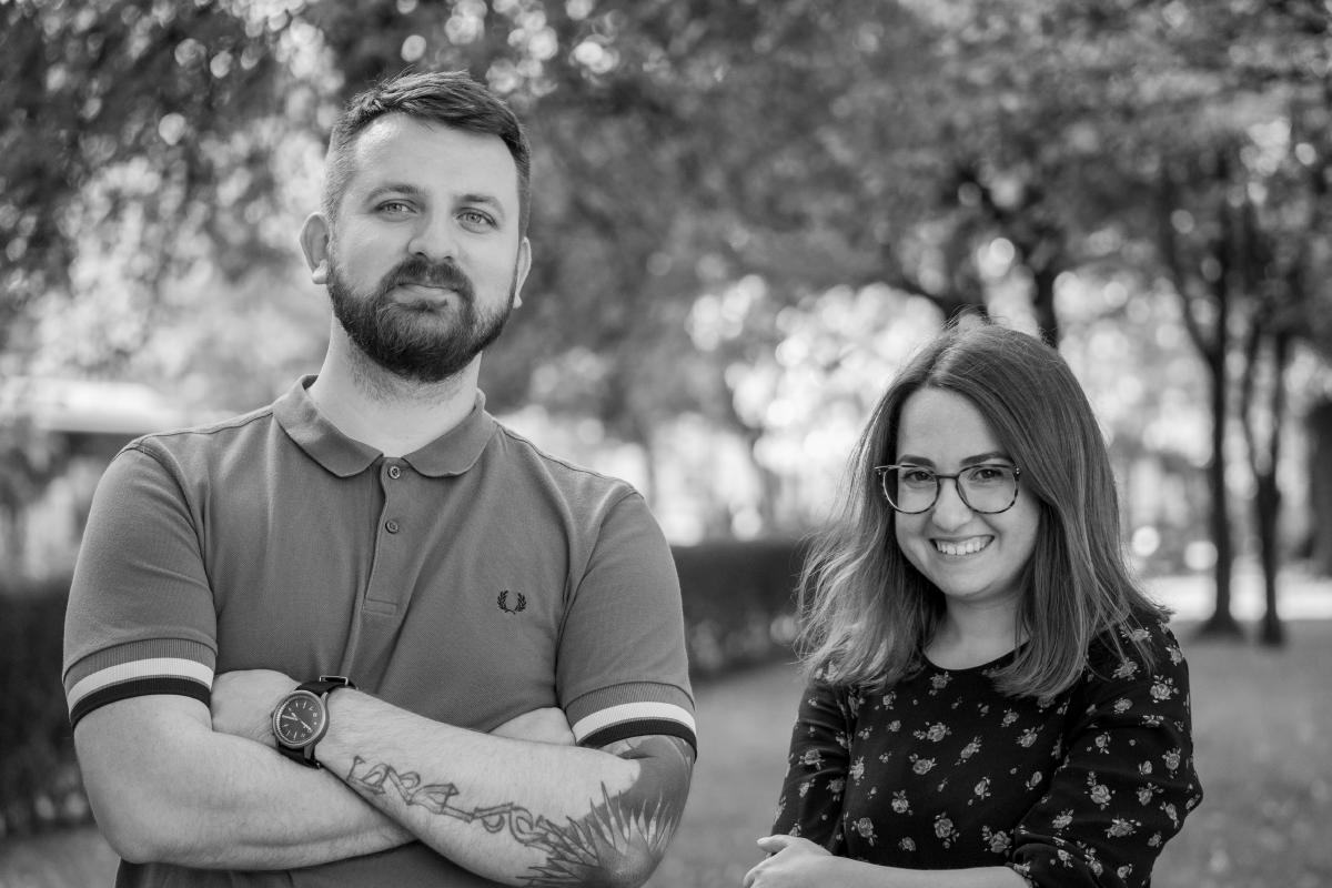 Stan Partalev and Mirela Belova