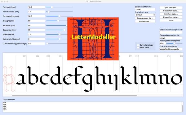 DTL LetterModeller
