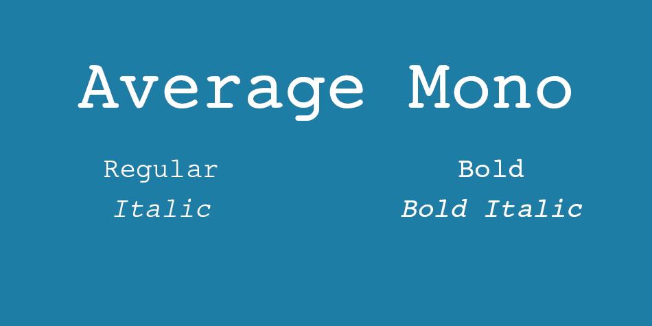 Average Mono
