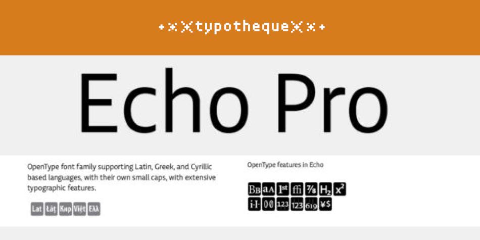 Echo Pro