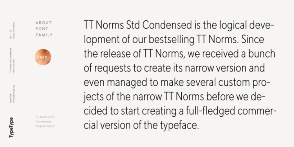 TT Norms Std Condensed