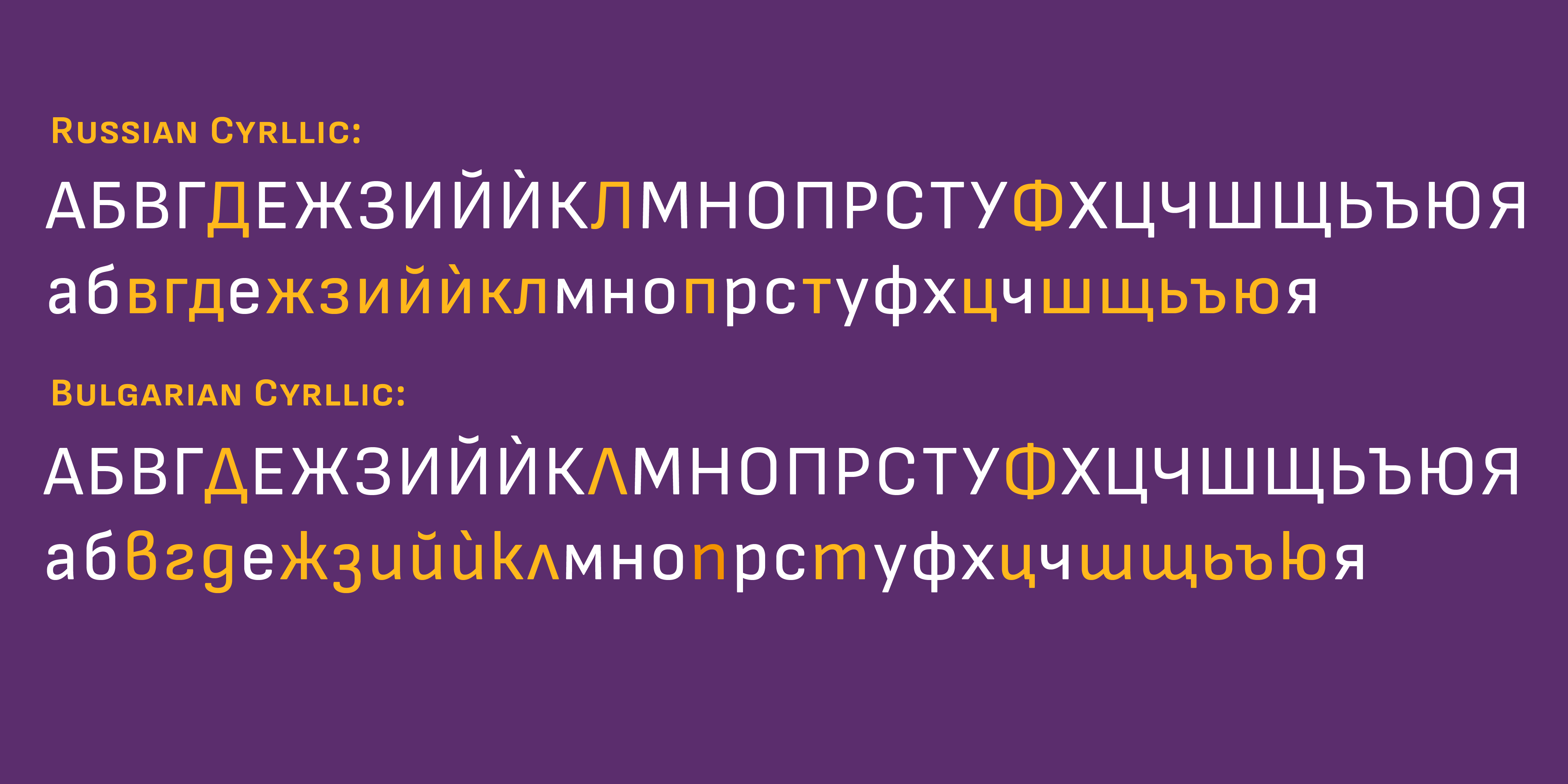 .loclBGR for Grotesque Typefaces