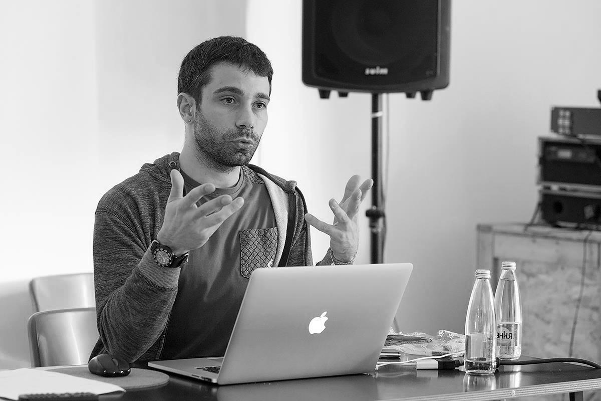 Lettersoup founder: Botio Nikoltchev, photo by Boryana Pandova | LETTERSOUP