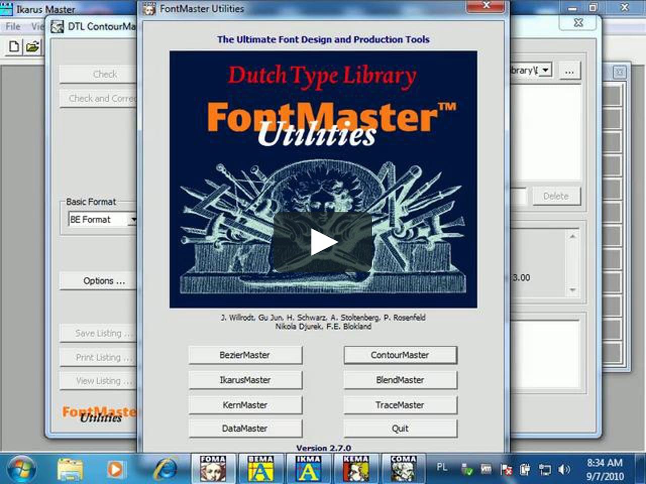 DTL FontMaster Light