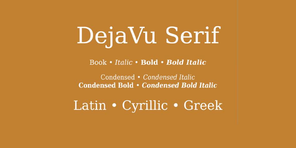 DejaVu Serif