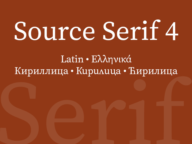 Source Serif 4