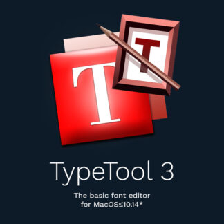 TypeTool 3 for MacOS≤10.14