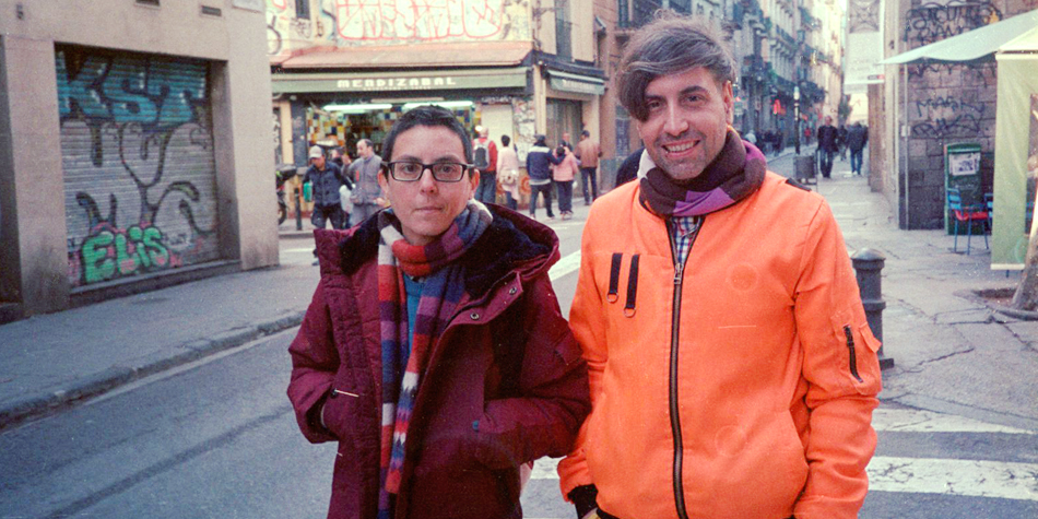 Letterjuice founders: Pilar Cano and Ferran Milan, photo by Letterjuice