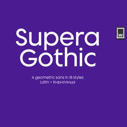 Supera Gothic