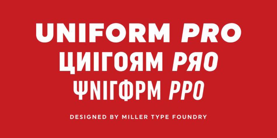 Uniform Pro