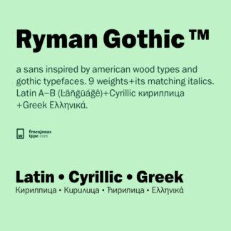 Ryman Gothic